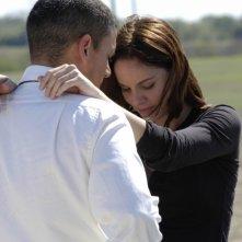 Michael, Wentworth Miller, e Sara, Sarah Wayne Callies, riescono finalmente a riabbracciarsi nell'episodio 'Minuti contati' della serie Prison Break
