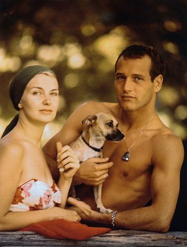 Paul Newman E Sua Moglie Joanne Woodwad Nel 1958 85418