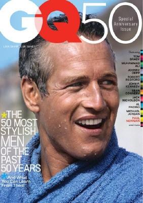 Paul Newman sulla copertina di GQ