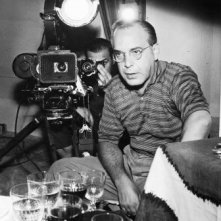 Il regista Giacomo Gentilomo sul set