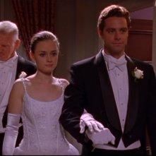Alexis Bledel e David Sutcliff, che interpreta suo padre nella serie tv Una mamma per amica, episodio: Il ballo delle debuttanti