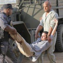 Amaury Nolasco interpreta Sucre, un amico di Michael che cerca un modo di farlo evadere dalla prigione nell'episodio 'Terra di nessuno' della serie Prison Break