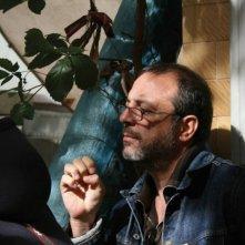 Il regista Semih Kaplanoglu sul set di Milk