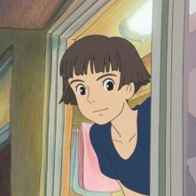 Un'immagine del film Ponyo on the Cliff by the Sea di Hayao Miyazaki