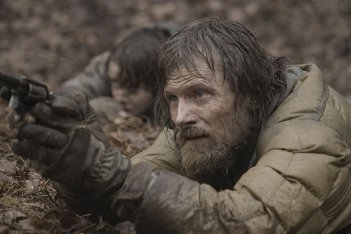 Viggo Mortensen in una scena del film The Road