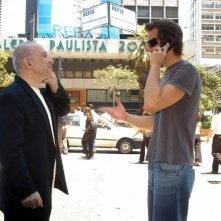 Ricardo Trêpa e Leon Cakoff in una scena del film Do Visível ao Invisível