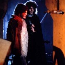Tito Schipa Jr. e Renato Zero in una scena del film Orfeo 9