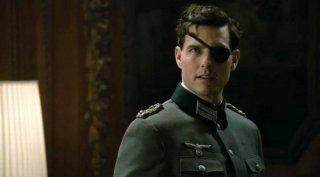 Tom Cruise interpreta il Colonnello Claus von Stauffenberg nel film Valkyrie