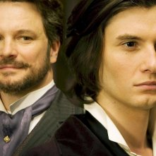Colin Firth e Ben Barnes in una scena del film Dorian Gray