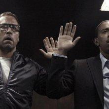 Jeremy Piven e Ludacris in una scena del film Rocknrolla