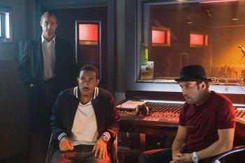 Ludacris e Jeremy Piven in una scena del film Rocknrolla