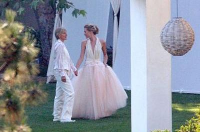 Le Prime Immagini Del Matrimonio Di Ellen Degeneres E Portia De Rossi 86050