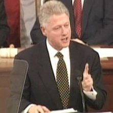 Bill Clinton in un'immagine del documentario I.O.U.S.A.