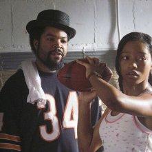 Ice Cube e Keke Palmer in una scena di The Longshots