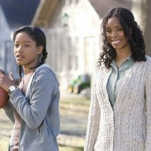 Keke Palmer e Tasha Smith in una scena del film The Longshots