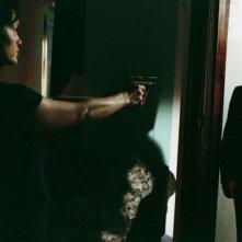 Carla Gugino e Robert De Niro in una sequenza del film Sfida senza regole - Righteous Kill