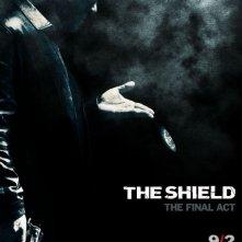 La locandina della Stagione 7 di The Shield