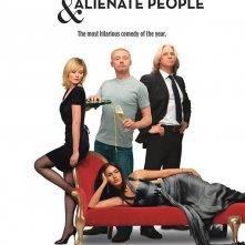 Un nuovo divertente poster per How to Lose Friends and Alienate People