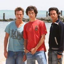 Mickael Trodoux, Raphaël Goldman e Mathieu Tribes in un'immagine promozionale di Summer Dreams