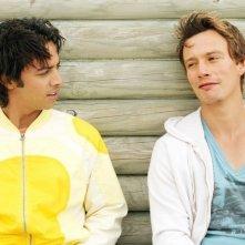 Shafik Ahmad e Mickael Trodoux in una scena di Summer Dreams
