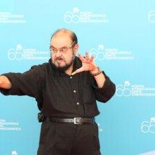 Josè Moijca Marins, star del film Encarnação do demonio alla 65edizione della Mostra del Cinema di Venezia