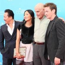 Venezia 65: Benoit Magimel, Lika Minamoto e Barbet Schroeder con il cast di Inju, la Bête dans l'ombre a