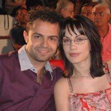 Andrea De Rosa e la sua compagna Crisula Stafida al Magna Grecia Film Festival 2008