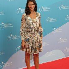 Venezia 2008: Nicole Grimaudo presenta il film Un giorno perfetto