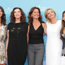 Venezia 65: le interpreti di Un giorno perfetto: Nicole Grimaudo, Stefania Sandrelli, Monica Guerritore e Isabella Ferrari