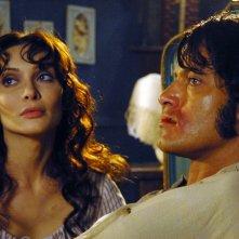 Gabriel Garko e Isabella Orsini sono i protagonisti della fiction Il sangue e la rosa