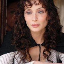 Isabella Orsini in una sequenza della fiction Il sangue e la rosa