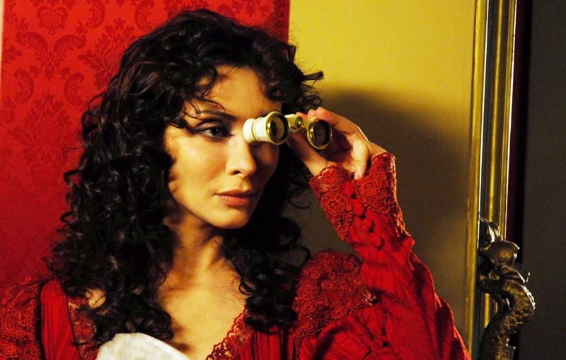 Isabella Orsini In Una Sequenza Della Fiction Il Sangue E La Rosa In Onda Su Canale 5 86965