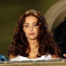 Isabella Orsini in una sequenza della miniserie Il sangue e la rosa