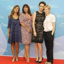 Mostra del Cinema 2008 - le protagoniste de Il papà di Giovanna: Valeria Bilello, Serena Grandi, Francesca Neri e Alba Rohrwacher
