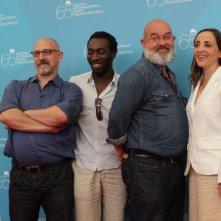 Patrick Mario Bernard Pierre Trividic presentano il film L'autre a Venezia 65.
