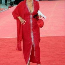 Venezia 2008: Elsa Martinelli in rosso