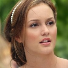 Leighton Meester nell'epiosdio 'Never been Marcused' della serie tv Gossip Girl