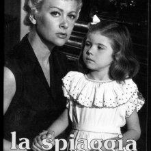 Un'immagine promozionale del film La Spiaggia (1954)
