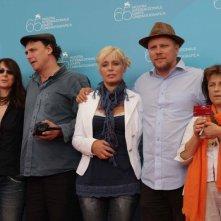 Venezia 2008 - la giuria della sezione Orizzonti: l'artista belga Chantal Akerman, Nicole Brenez, l'attrice Barbara Cupisti