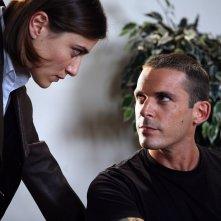 Anna Foglietta ed Enrico Silvestrin in una scena di Distretto di Polizia 8