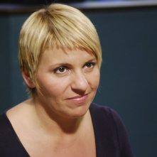 Daniela Morozzi in una scena di Distretto di Polizia 8