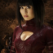 Eriko Tamura in un'immagine promozionale del film Dragonball