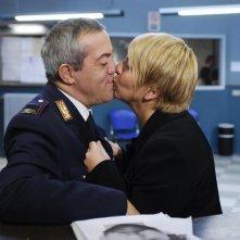 Gianni Ferreri e Daniela Morozzi in una scena di Distretto di Polizia 8