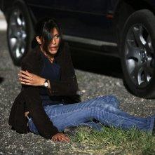 Giulia Bevilacqua in una scena di Distretto di Polizia 8