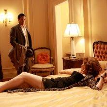 Jon Hamm e Melinda McGraw in un momento dell'episodio Maidenform di Mad Men