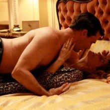 Jon Hamm e Melinda McGraw in una scena dell'episodio Maidenform di Mad Men
