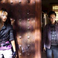 Justin Chatwin e Emmy Rossum in una scena di Dragonball