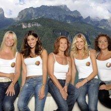 Le donne dell'Isola dei Famosi 6: Vladimir Luxuria, Michi Gioia, Belen Rodriguez, Veridiana Mallmann e Flavia Vento