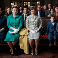 Myra Turley, Audrey Wasilewski ed Elisabeth Moss in una scena dell'episodio Three Sundays di Mad Men