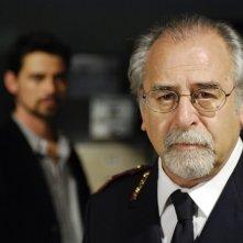 Roberto Nobile in una scena di Distretto di Polizia 8